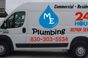 M.E. Plumbing for commercial and residential plumbing repairs in New Braunfels, TX