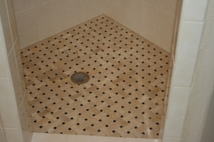 Shower drainage plumbing repair in San Marcos, TX